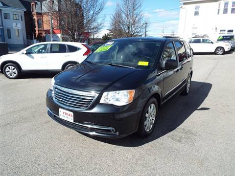 2013 Chrysler Town and Country for sale at FRIAS AUTO SALES LLC in Lawrence MA