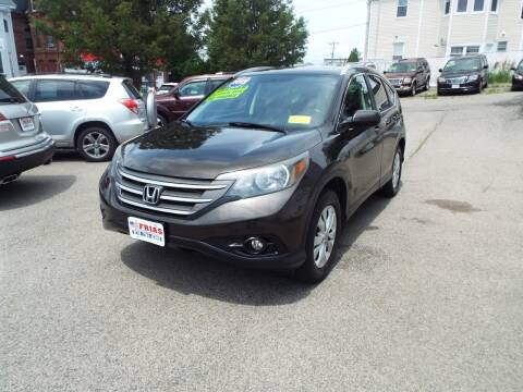 2013 Honda CR-V for sale at FRIAS AUTO SALES LLC in Lawrence MA