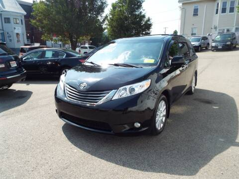 2013 Toyota Sienna for sale at FRIAS AUTO SALES LLC in Lawrence MA