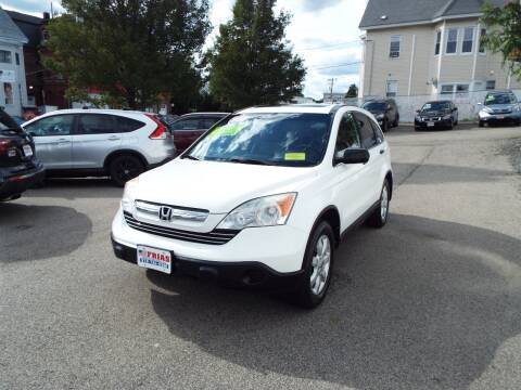 2009 Honda CR-V for sale at FRIAS AUTO SALES LLC in Lawrence MA