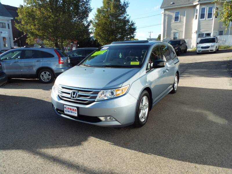 2011 Honda Odyssey for sale at FRIAS AUTO SALES LLC in Lawrence MA