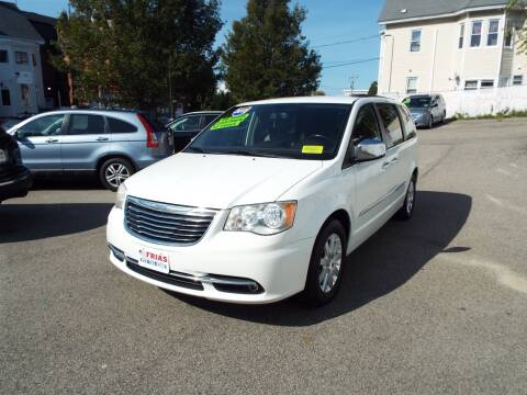 2012 Chrysler Town and Country for sale at FRIAS AUTO SALES LLC in Lawrence MA