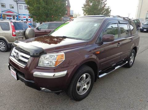 2008 Honda Pilot for sale at FRIAS AUTO SALES LLC in Lawrence MA