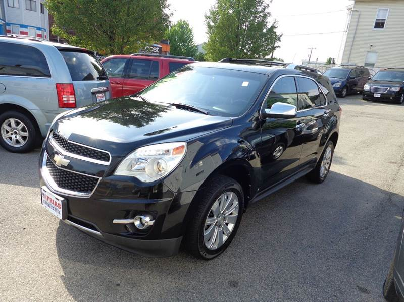2010 Chevrolet Equinox for sale at FRIAS AUTO SALES LLC in Lawrence MA