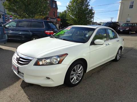 2012 Honda Accord for sale at FRIAS AUTO SALES LLC in Lawrence MA
