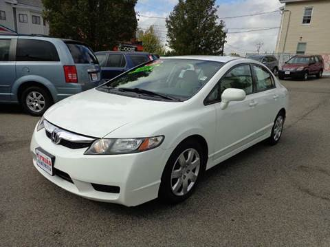 2011 Honda Civic for sale at FRIAS AUTO SALES LLC in Lawrence MA