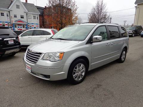 2008 Chrysler Town and Country for sale at FRIAS AUTO SALES LLC in Lawrence MA