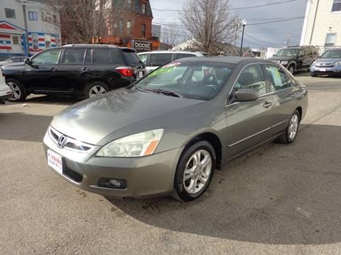 2006 Honda Accord for sale at FRIAS AUTO SALES LLC in Lawrence MA