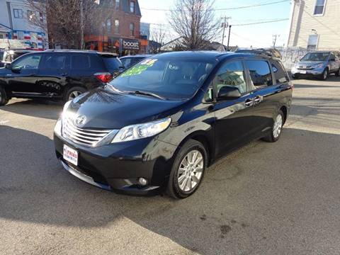 2015 Toyota Sienna for sale at FRIAS AUTO SALES LLC in Lawrence MA