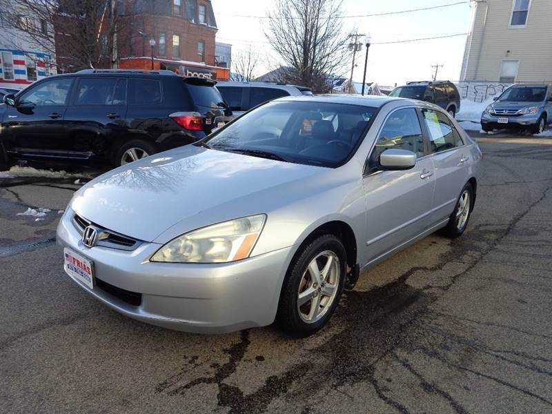 2005 Honda Accord for sale at FRIAS AUTO SALES LLC in Lawrence MA
