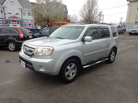 2010 Honda Pilot for sale at FRIAS AUTO SALES LLC in Lawrence MA