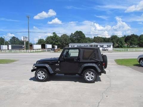 2006 Jeep Wrangler for sale at Special Finance of Charleston LLC in Moncks Corner SC