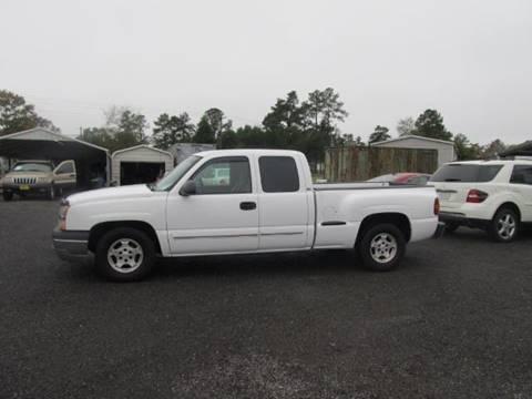 2003 Chevrolet Silverado 1500 for sale at Special Finance of Charleston LLC in Moncks Corner SC