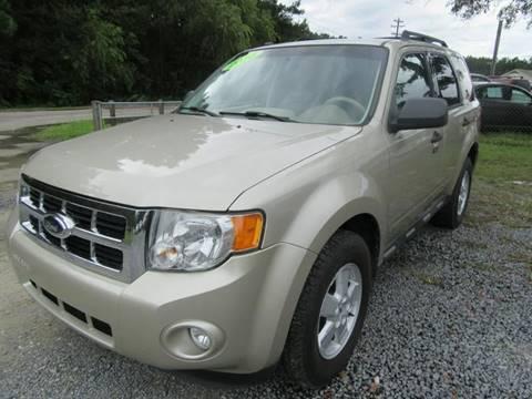 2010 Ford Escape for sale at Special Finance of Charleston LLC in Moncks Corner SC