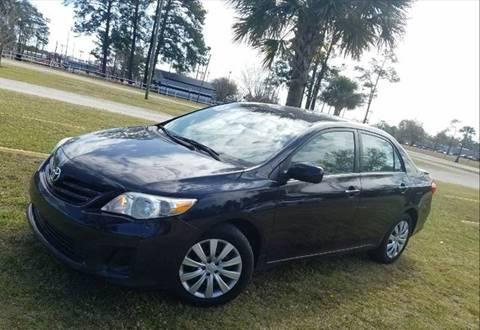 2013 Toyota Corolla for sale at Special Finance of Charleston LLC in Moncks Corner SC