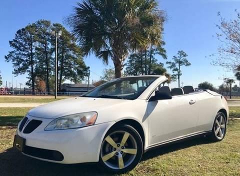 2007 Pontiac G6 for sale at Special Finance of Charleston LLC in Moncks Corner SC