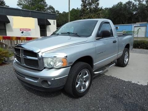 2004 Dodge Ram Pickup 1500 for sale at Special Finance of Charleston LLC in Moncks Corner SC