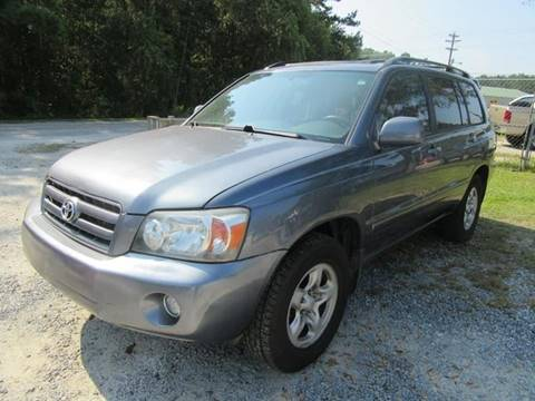 2007 Toyota Highlander for sale at Special Finance of Charleston LLC in Moncks Corner SC