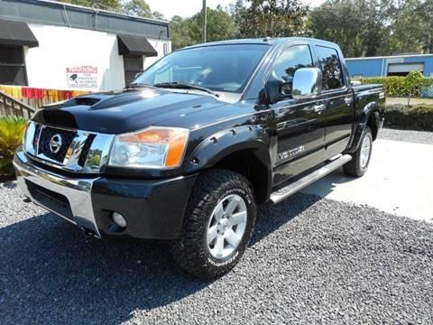 2009 Nissan Titan for sale at Special Finance of Charleston LLC in Moncks Corner SC