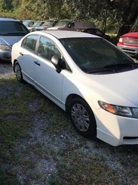 2011 Honda Civic for sale at Special Finance of Charleston LLC in Moncks Corner SC
