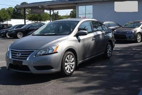 2014 Nissan Sentra for sale at Special Finance of Charleston LLC in Moncks Corner SC
