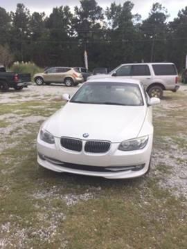 2011 BMW 3 Series for sale at Special Finance of Charleston LLC in Moncks Corner SC