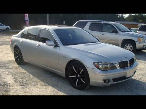 2008 BMW 7 Series for sale at Special Finance of Charleston LLC in Moncks Corner SC