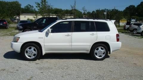 2004 Toyota Highlander for sale at Special Finance of Charleston LLC in Moncks Corner SC