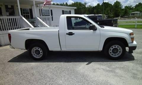 2012 Chevrolet Colorado for sale at Special Finance of Charleston LLC in Moncks Corner SC