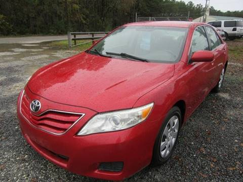 2010 Toyota Camry for sale at Special Finance of Charleston LLC in Moncks Corner SC