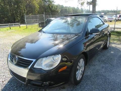 2008 Volkswagen Eos for sale at Special Finance of Charleston LLC in Moncks Corner SC