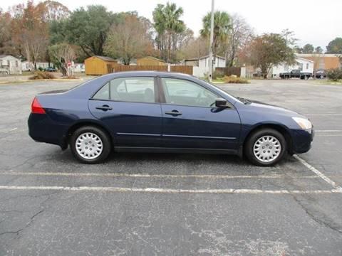 2006 Honda Accord for sale at Special Finance of Charleston LLC in Moncks Corner SC