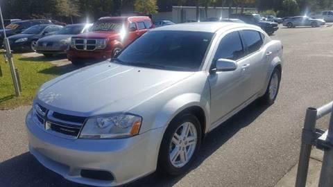 2012 Dodge Avenger for sale at Special Finance of Charleston LLC in Moncks Corner SC