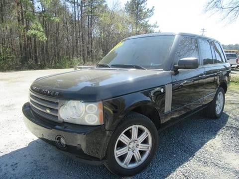 2006 Land Rover Range Rover for sale at Special Finance of Charleston LLC in Moncks Corner SC