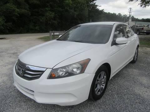 2011 Honda Accord for sale at Special Finance of Charleston LLC in Moncks Corner SC