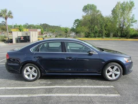 2013 Volkswagen Passat for sale at Special Finance of Charleston LLC in Moncks Corner SC