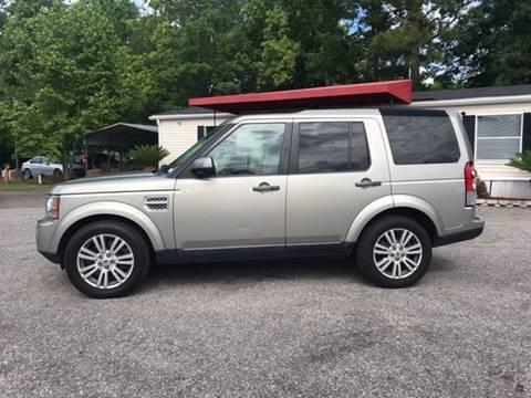 2011 Land Rover LR4 for sale at Special Finance of Charleston LLC in Moncks Corner SC