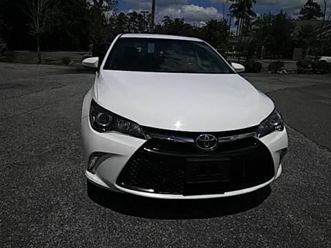 2016 Toyota Camry for sale at Special Finance of Charleston LLC in Moncks Corner SC