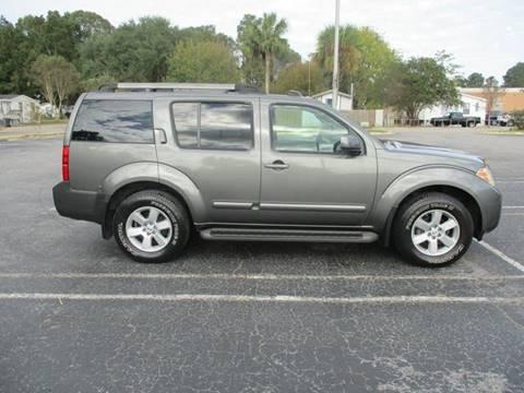 2008 Nissan Pathfinder for sale at Special Finance of Charleston LLC in Moncks Corner SC