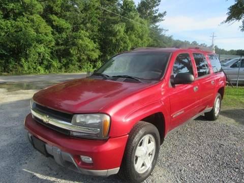 2003 Chevrolet TrailBlazer for sale at Special Finance of Charleston LLC in Moncks Corner SC