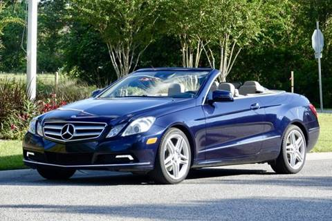 2011 Mercedes-Benz E-Class for sale in Summerville, SC