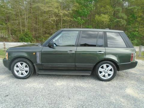2005 Land Rover Range Rover for sale in Summerville, SC