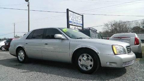 2002 Cadillac DeVille for sale at Special Finance of Charleston LLC in Moncks Corner SC