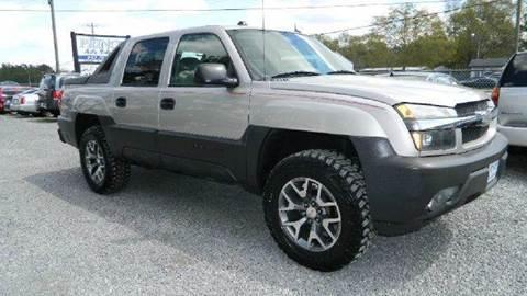 2005 Chevrolet Avalanche for sale at Special Finance of Charleston LLC in Moncks Corner SC