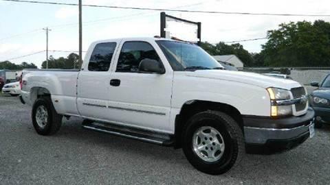 2004 Chevrolet Silverado 1500 for sale at Special Finance of Charleston LLC in Moncks Corner SC