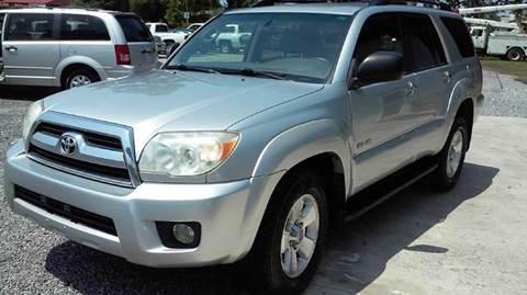 2006 Toyota 4Runner for sale at Special Finance of Charleston LLC in Moncks Corner SC