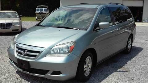 2007 Honda Odyssey for sale at Special Finance of Charleston LLC in Moncks Corner SC