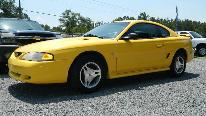 1998 Ford Mustang for sale at Special Finance of Charleston LLC in Moncks Corner SC