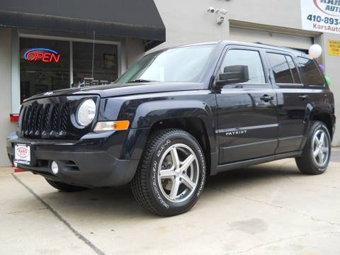 2011 Jeep Patriot for sale in Fallston, MD