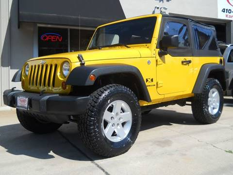 2008 Jeep Wrangler for sale in Fallston, MD